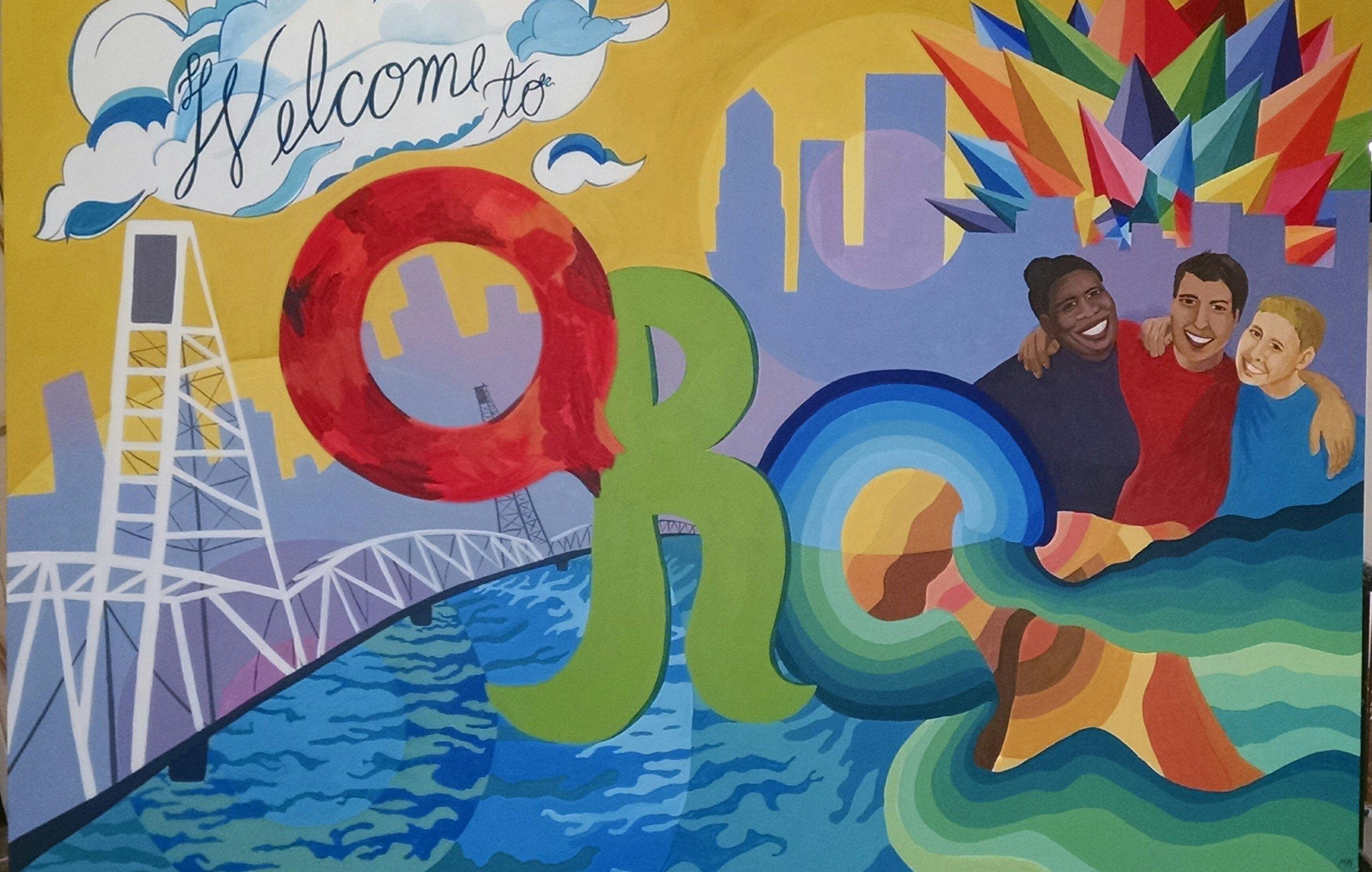 PSU Queer Student Resource Center Mural