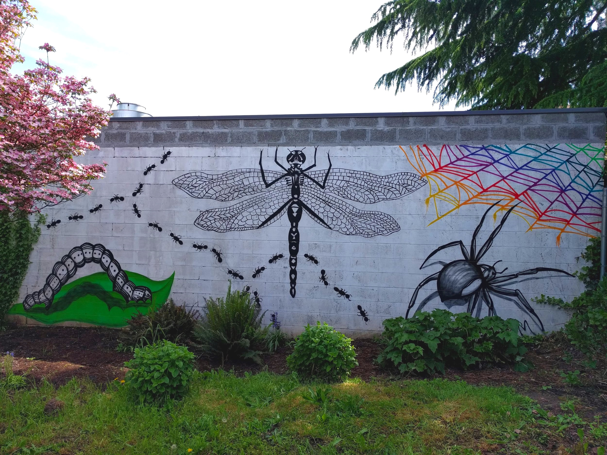 Backyard Bug Mural