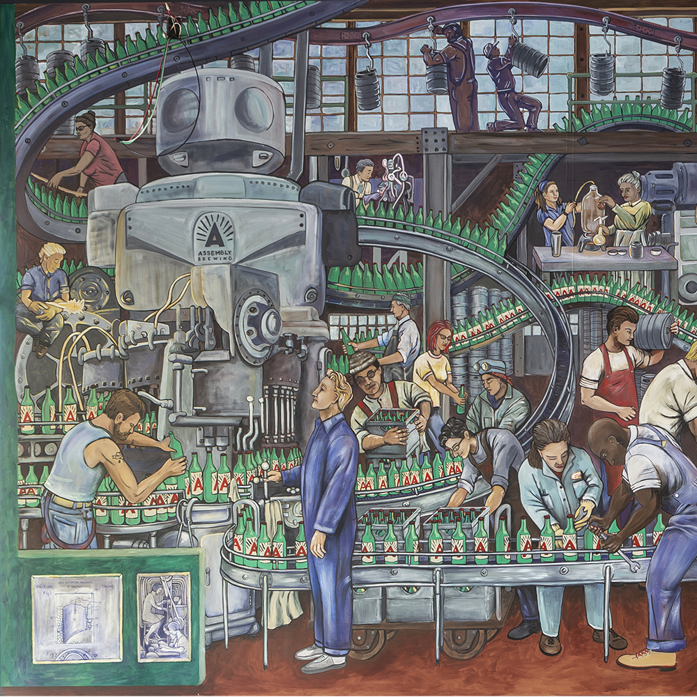 Assebly Brewing Mural