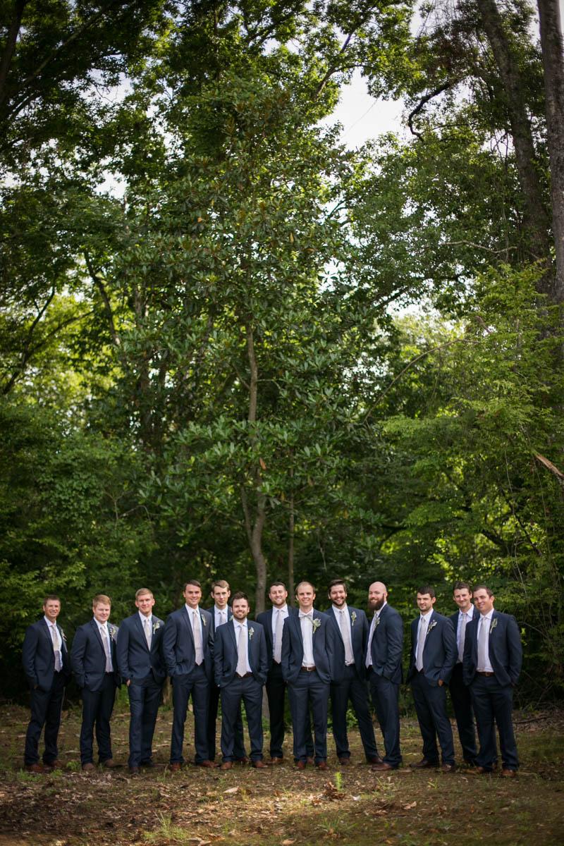 St. Francisville Weddings, Bridal Party, groomsmen