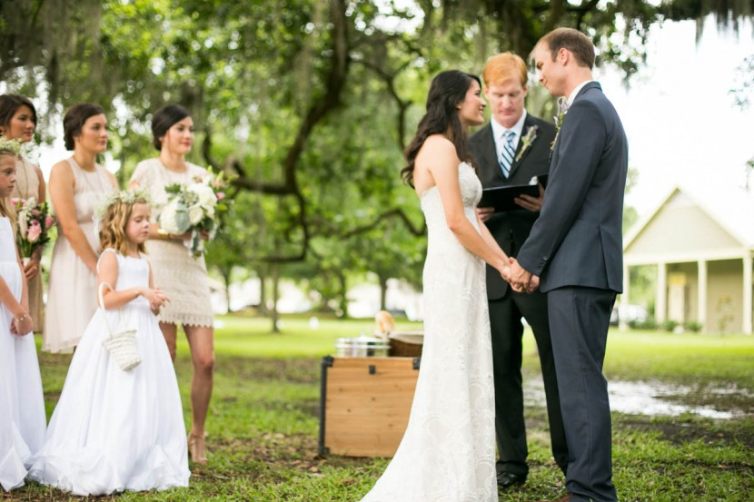 St. Francisville Weddings, Bridal Party, ceremony