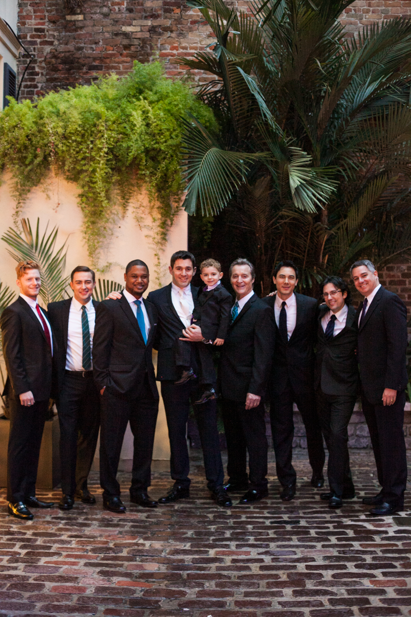New Orleans weddings groomsmen