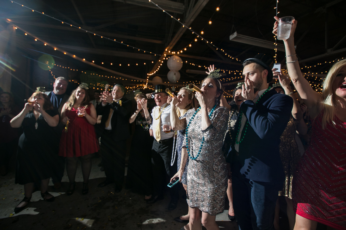 Baton Rouge New Years Wedding