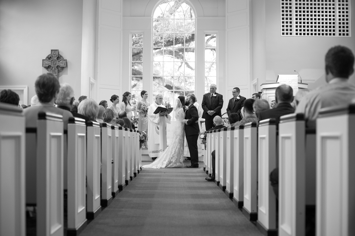 Baton Rouge Wedding Photographer Ceremony