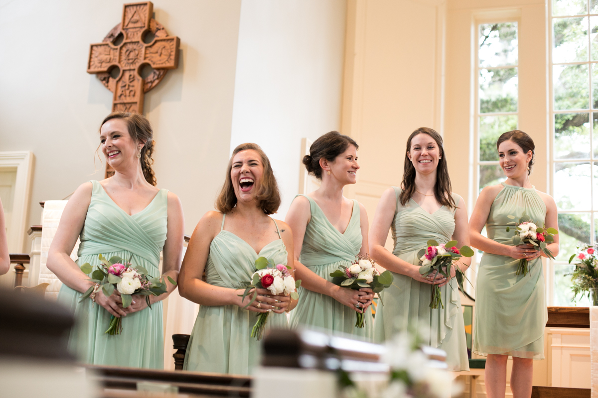 Baton Rouge Wedding Photographers Bridesmaids