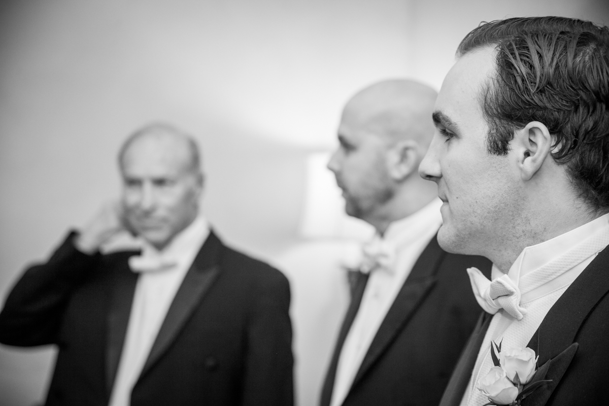 Groom getting ready waldorf Astoria
