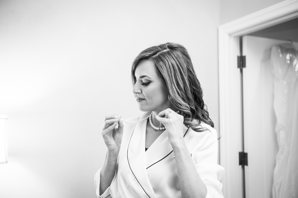 New Orleans Wedding Photographer bride getting ready