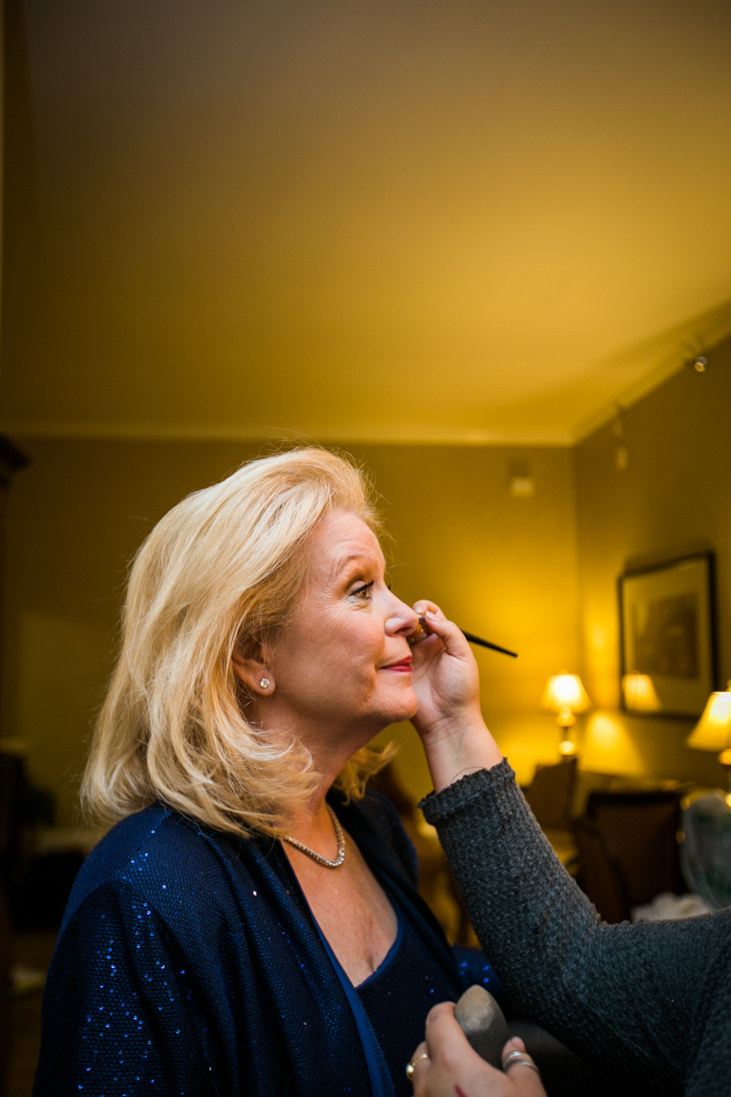 New Orleans weddings mom getting ready