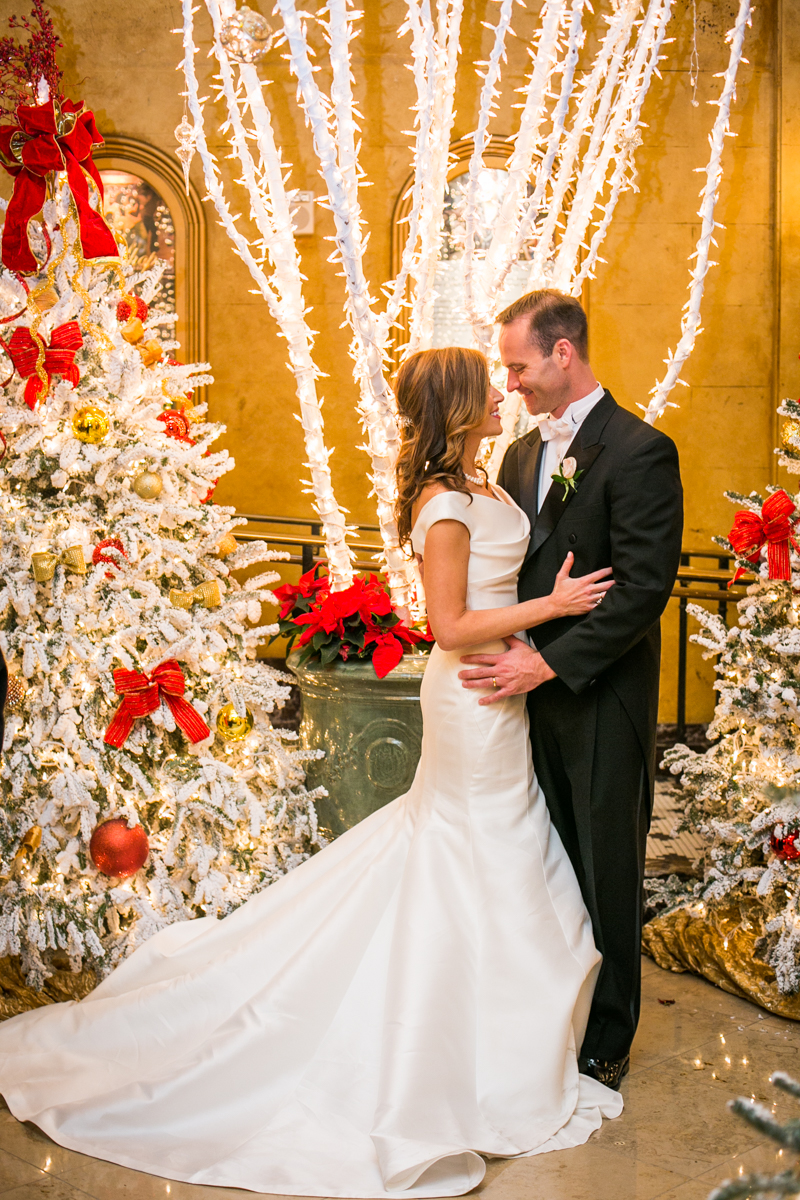 The Roosevelt Weddings New Orleans Christmas