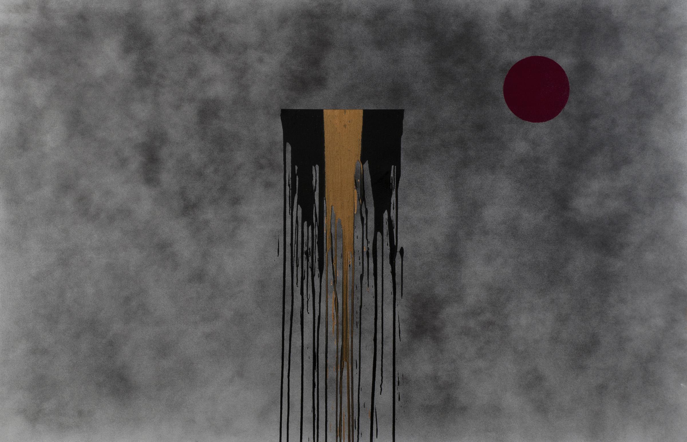 "Nicolo's Quest, acrylic on canvas, 54"" x 84"", 2015"
