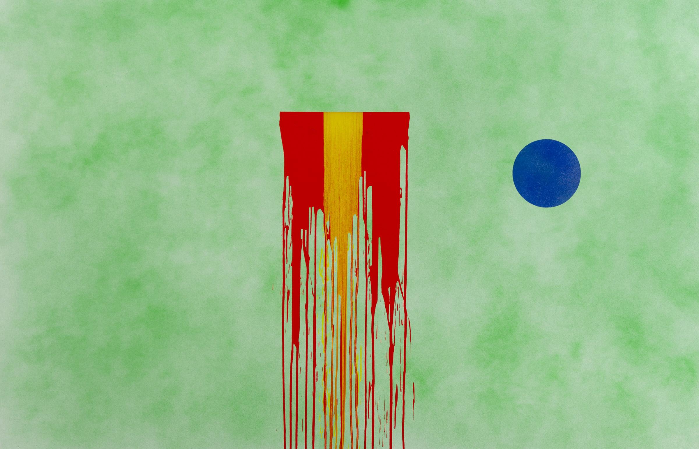 """Calendared, acrylic on canvas, 54"""" x 84"""", 2015"""