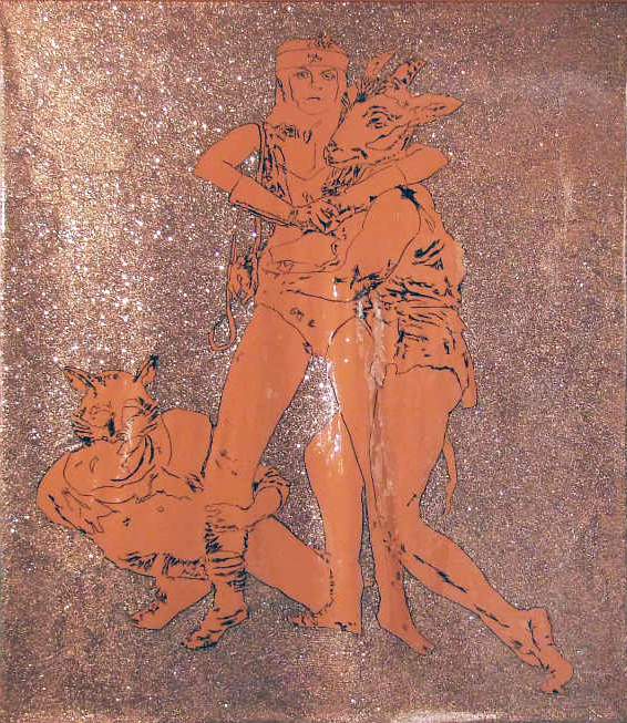 Robin Gaynes-Bachman, Barbara Ellmann as Wonder Woman Dancing Shakespeare