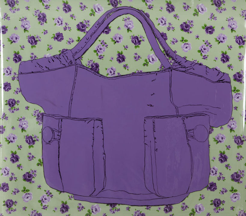 Robin Gaynes-Bachman, Purple Bodhi Bag