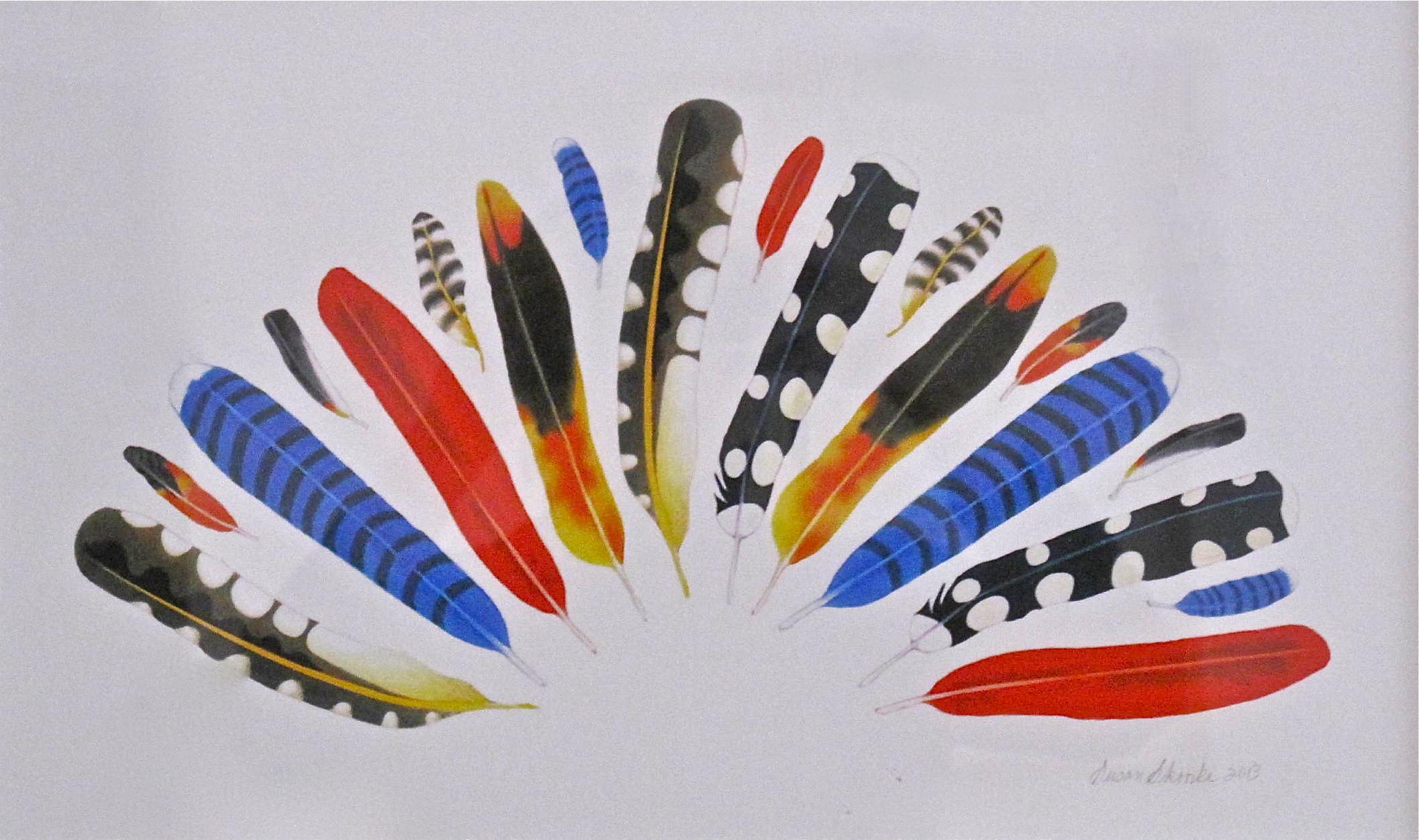 Susan Skoorka, Fan Feathers