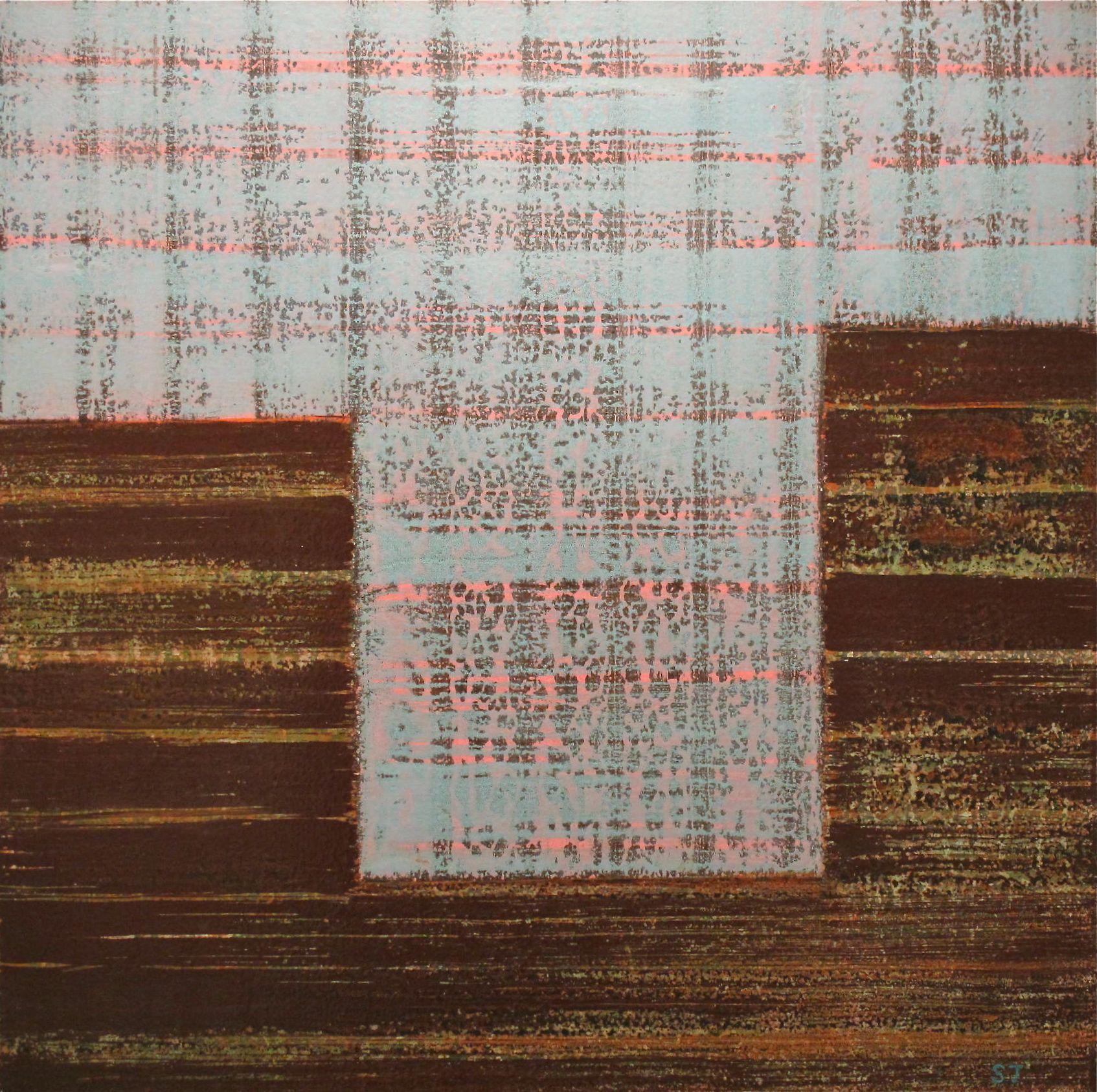 Suejin Jo, Deceptive Blue Tide, 30 x 30.jpg