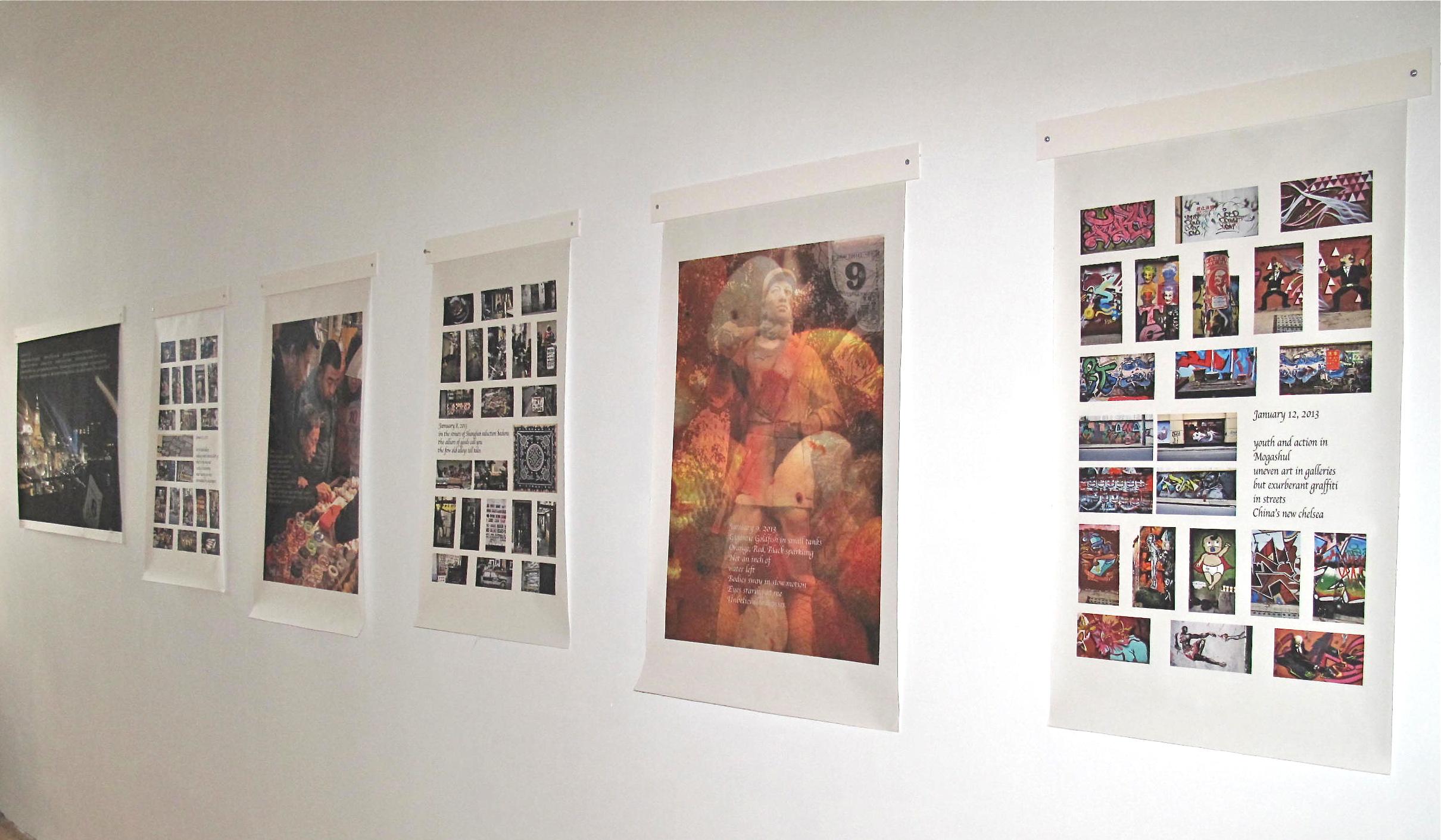 Sara Petitt, On the Wall Installation 2