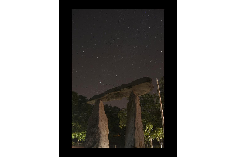 "#4410 Stones, Pound Ridge, NY, 2010, 44""x60"""