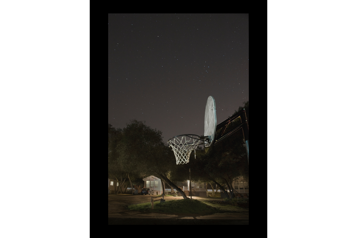 "#7382 Basketball Net, Riverside, CA, 2011, 26""x36"""
