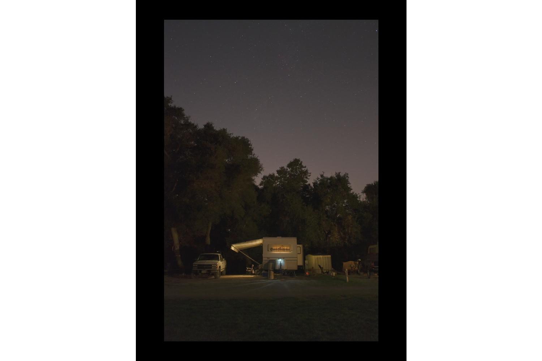 "#7437 Coachman, Campsite, Riverside, CA, 2011, 26""x36"""