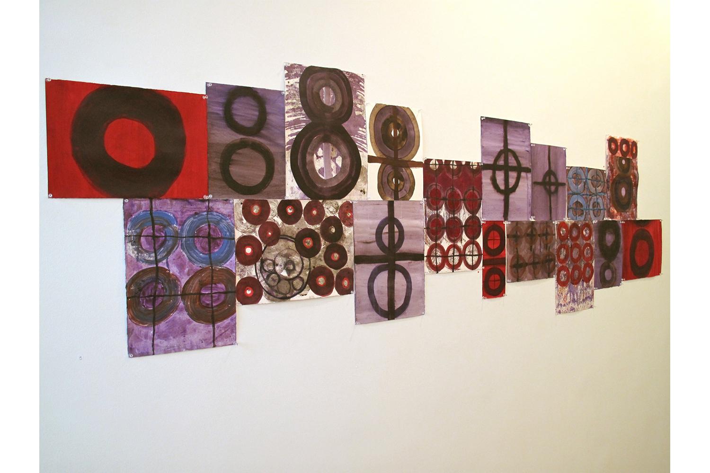 2 Liz Curtin, Shield Series drawings installation.jpg