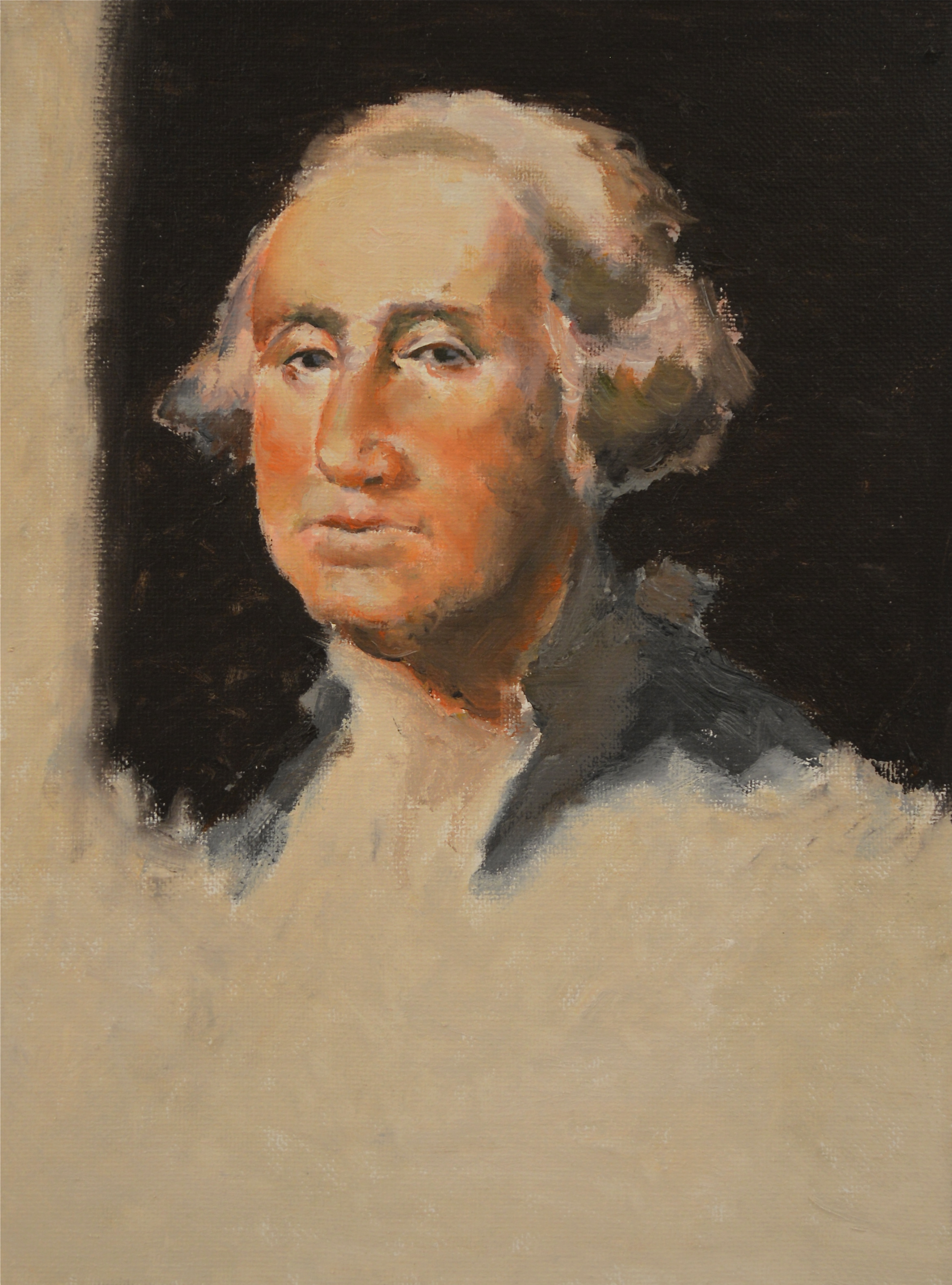 Yong Kui-Zhang, George Washington Portrait