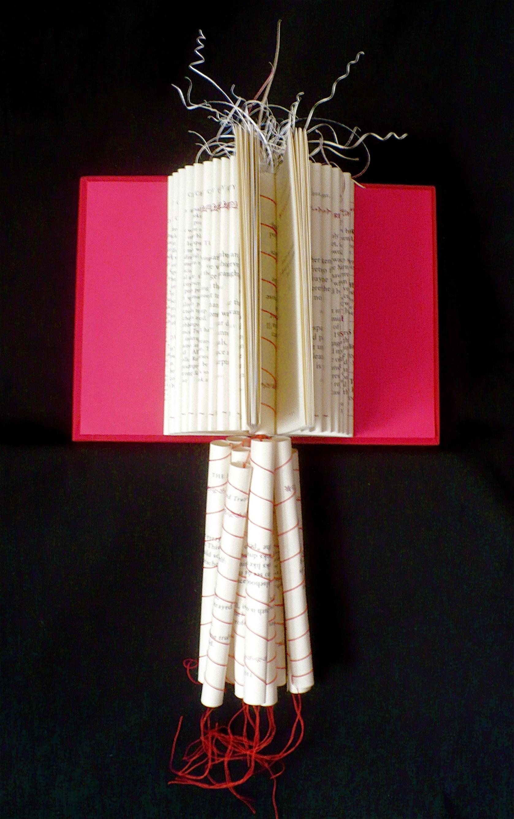 "books107EmptyChair, 17"" x 8.5"" x 5"", 2015"