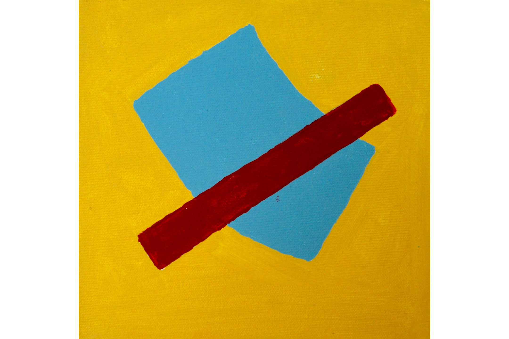 """John Whittaker, Nostalgia #1, Acrylic on canvas, 8"""" x 8"""", 2016"""