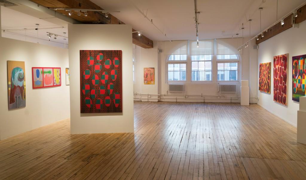January 5 - 26, 2017 - Three Painters: Arnold Brooks, Susan Lisbin & Rifka MilderPathways: Azita Ghafouri & Eveline LuppiElton Tucker: On the Wall