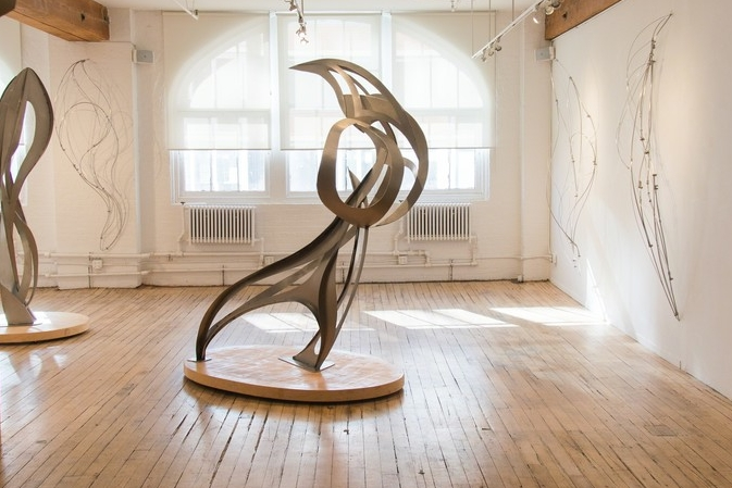October 6 - 27, 2016 - David Cerulli: Recent Sculptures and DrawingsSolomon Ethe: STACCATO 2016Lynn Gall: On the Wall
