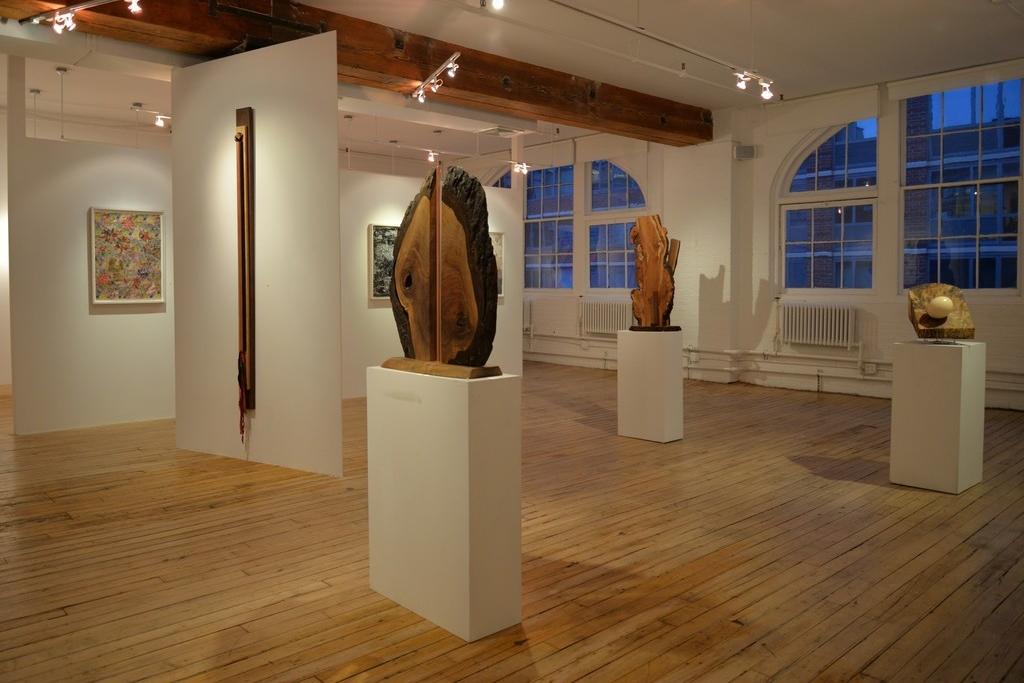 February 4 - 25, 2016 - Susan Newmark, Sumayyah Samaha & Betty McGeehan: Recent WorkHelen Iranyi: PaintingsOn The Wall: Olivia Beens