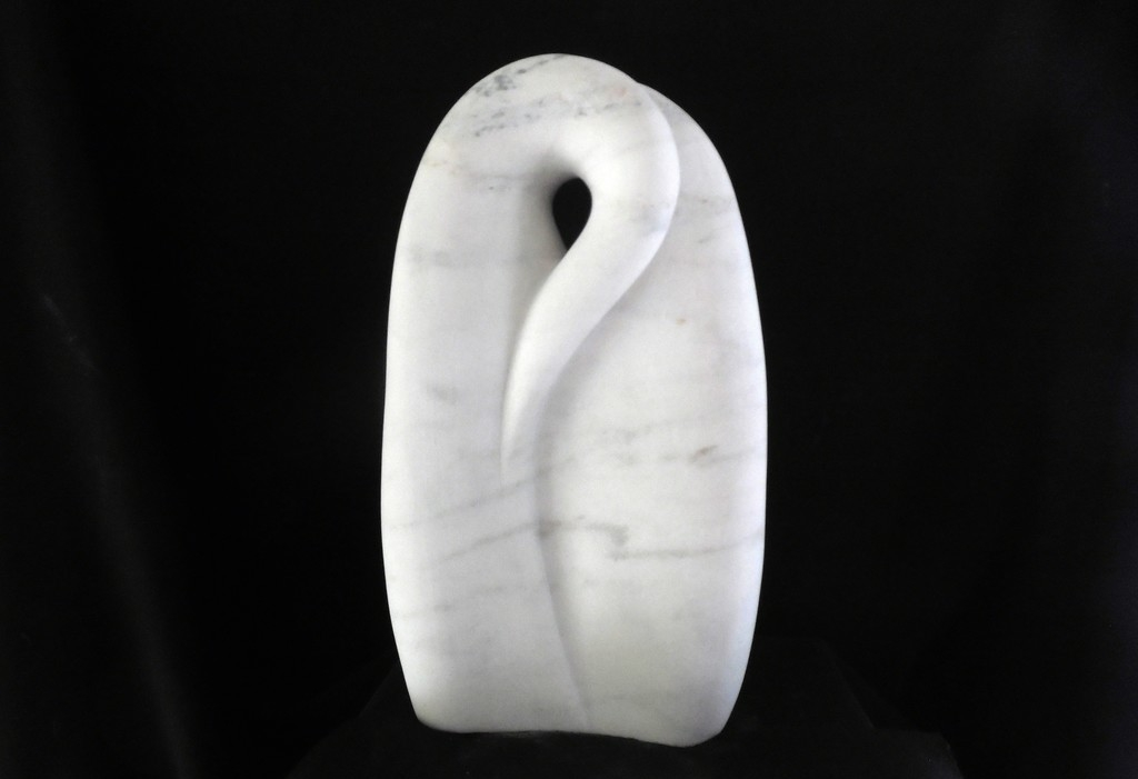 Secure, 2017 Marble 14 × 8 × 3 in