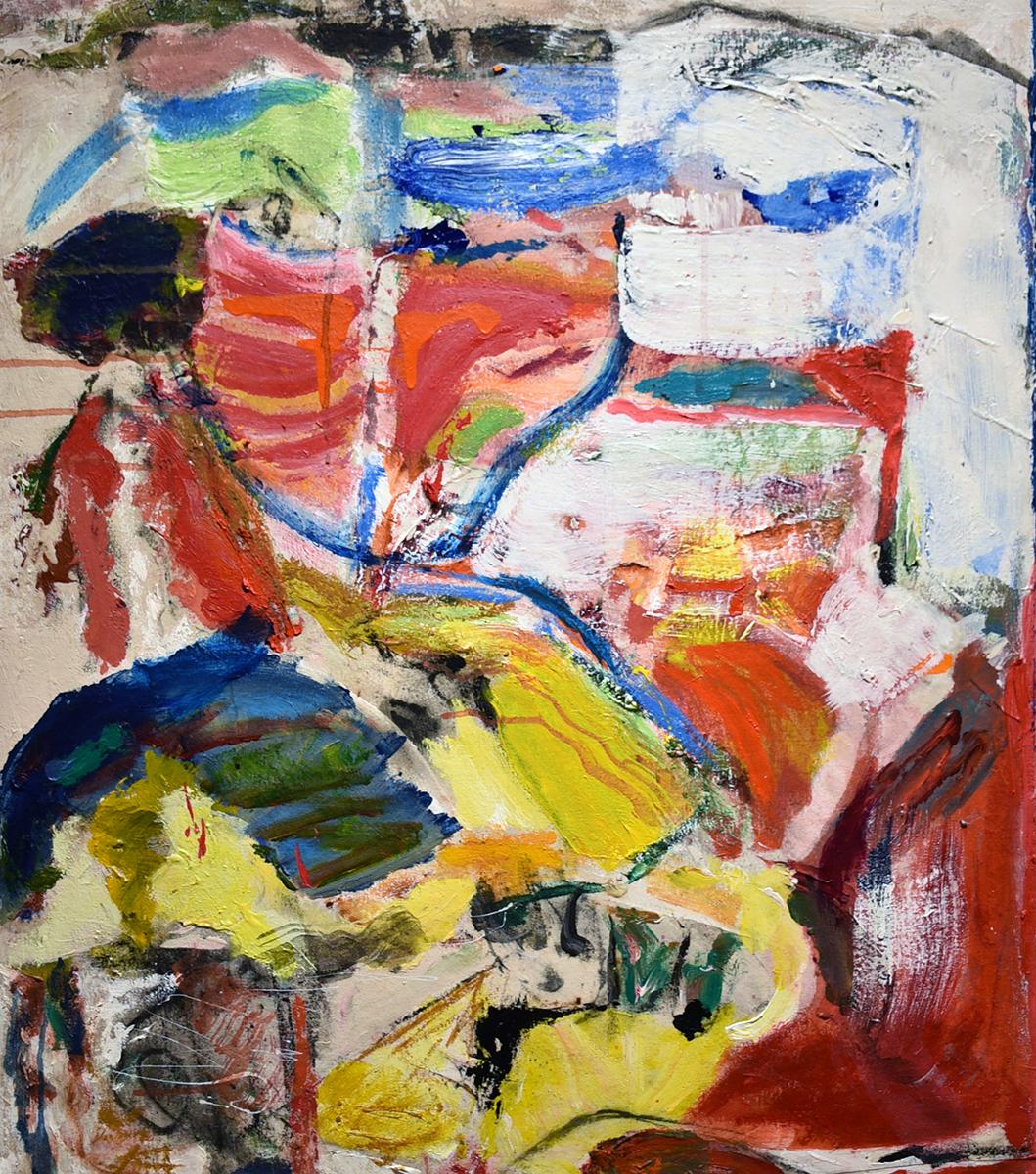 John Beardman, Skedaddle, 2017, Mixed Media on Canvas, 32 x 28 inches, low res.jpg