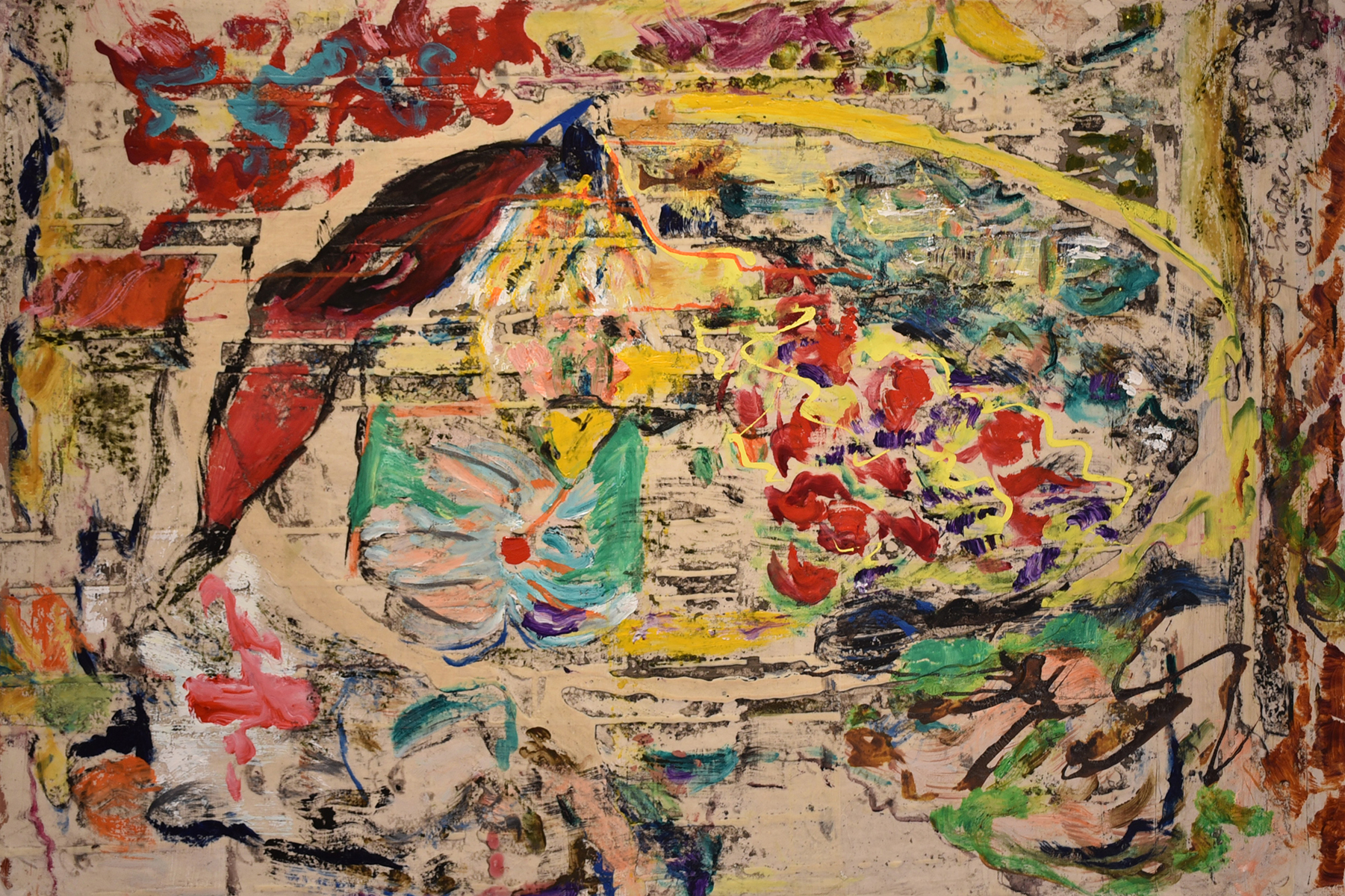 John Beardman, The Count, 2017, Mixed Media on Canvas, 32 x 48 inches, low res.jpg