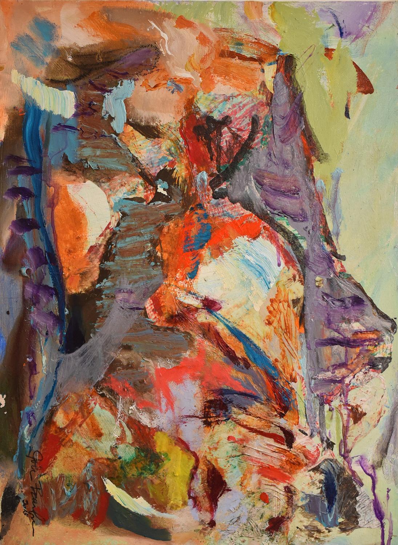 John Beardman, The Regent, 2017, Mixed Media on Canvas, 24 x 18 inches, low res.jpg