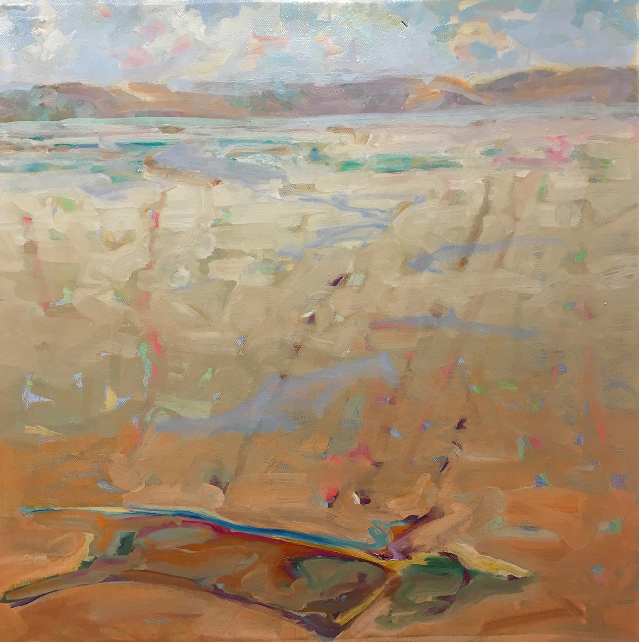 MountainLake02, Oilcanvas, 24x24, MelSmothers2015A, low res.jpg