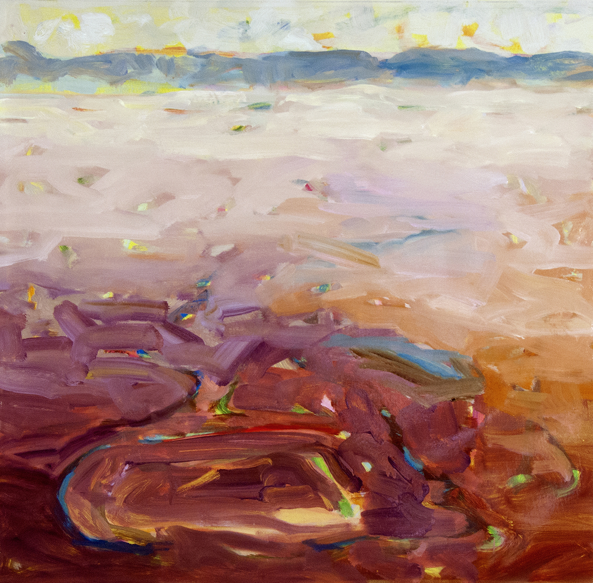 MountainLake04Oilcanvas24x24MelSmothers2016, low res.jpg