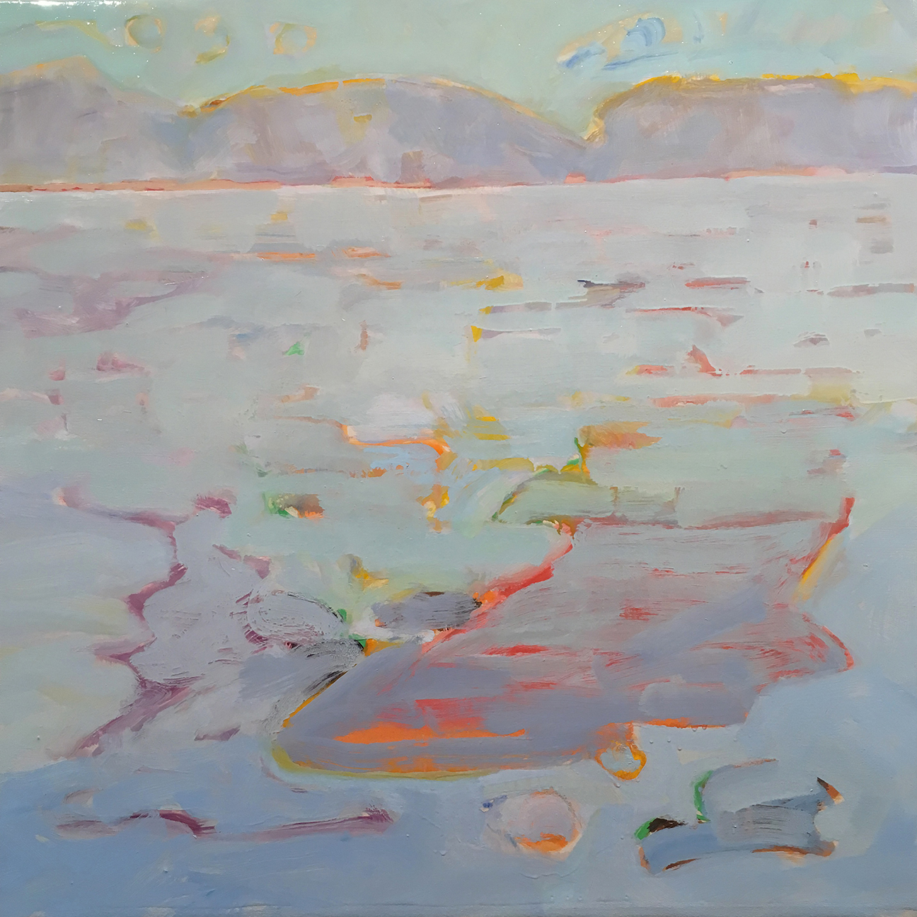 MountainLake37oilcanvas24x24MelSmothers2017A, low res.jpg