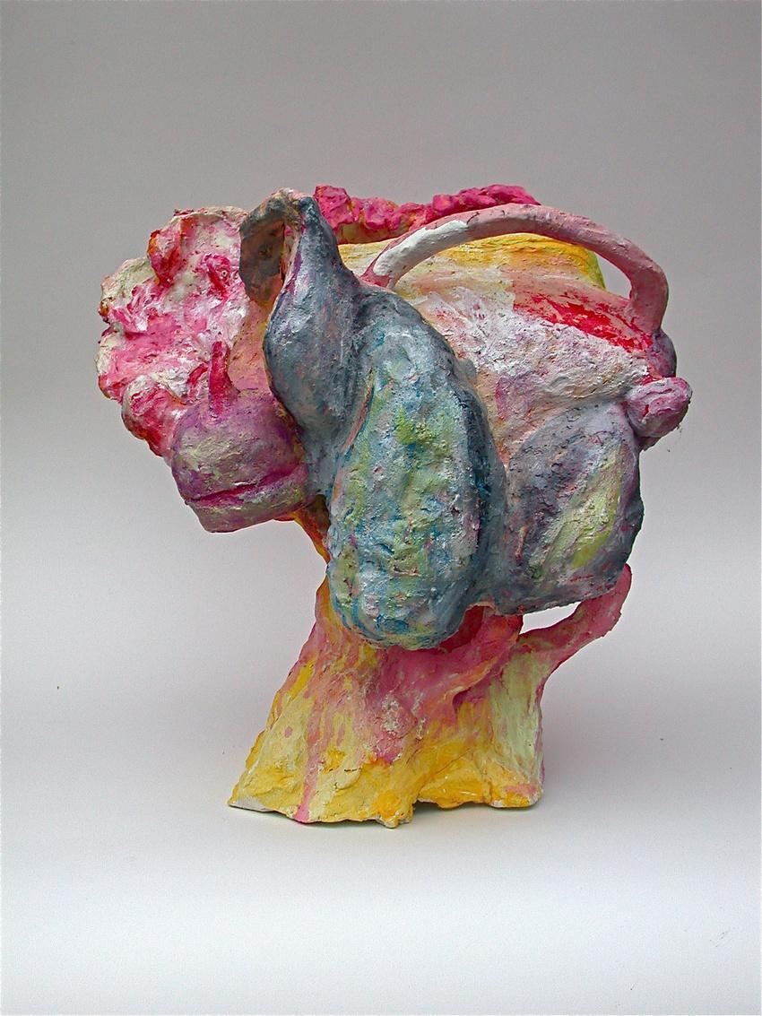 Jackie Shatz, Still Life, Ceramic and Paint, 24 x18 inches.jpg