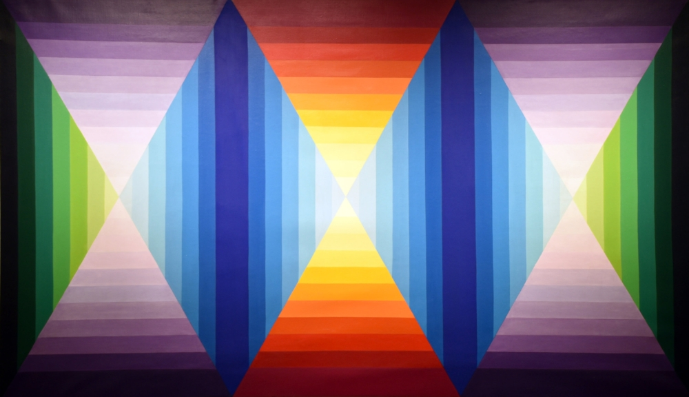 Lilyan R. Stern Variations on Theme #1 1970 Acrylic on Linen 42 x 72 inches $4,000.jpg