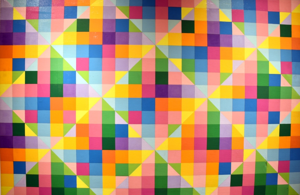 Lilyan R. Stern Variations on Theme #2 1970 Acrylic on Linen 32 x 48 inches $1,500.jpg