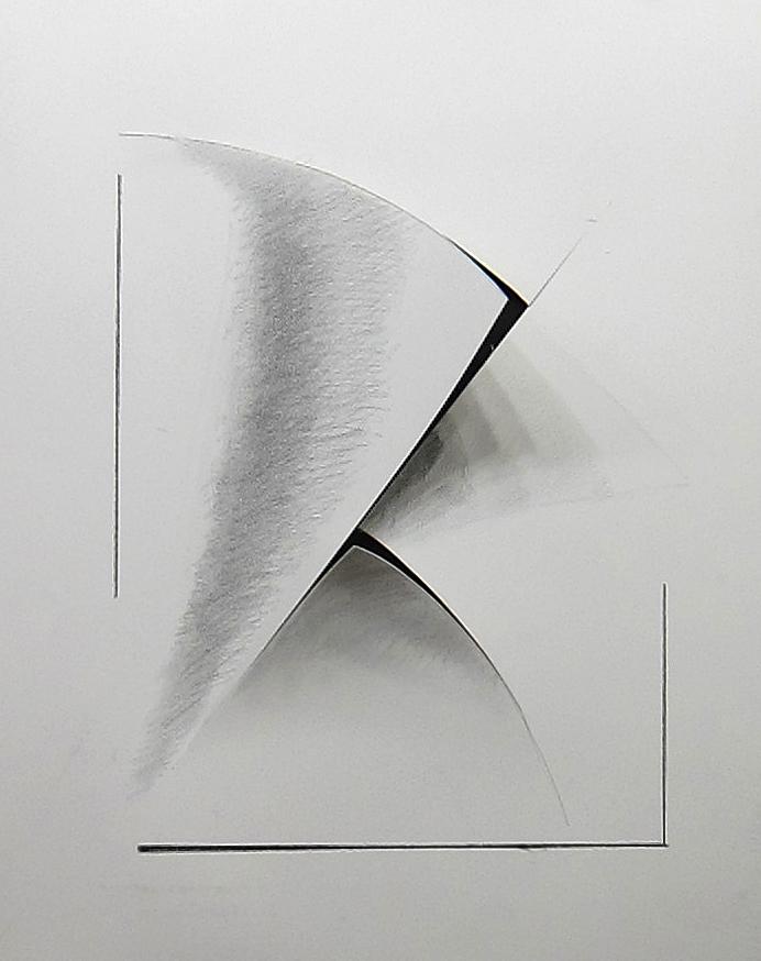* 1.Howard Nathensoni %22Illusion drawing%22 graphite and cut paper 30%22x22%22.jpg