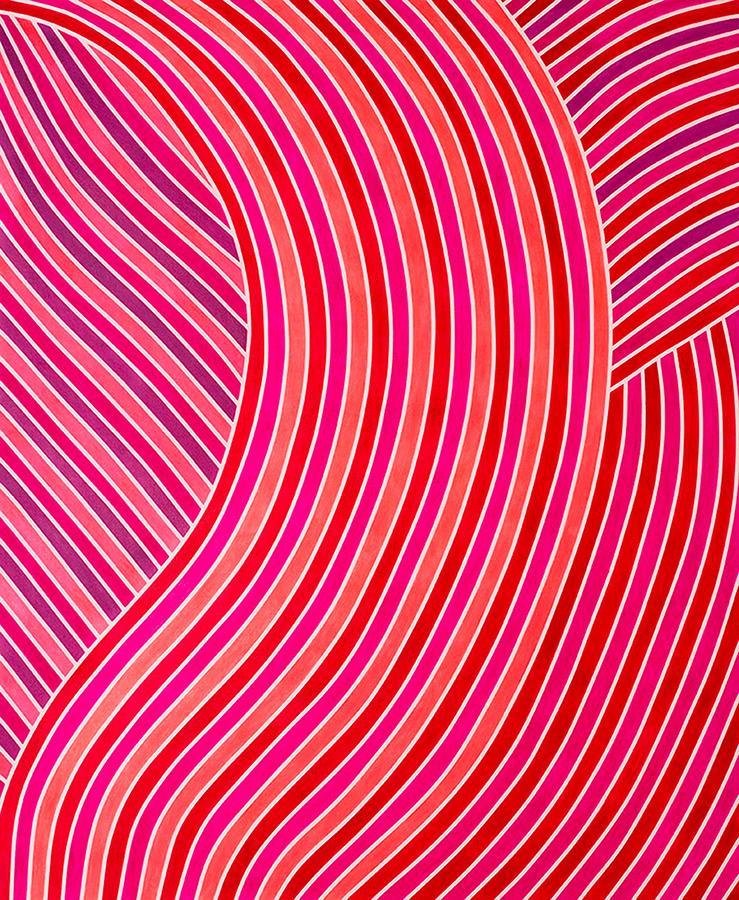 * Jennifer Woolcock Schwartz;Pink Clash; 2017; 46x54;  $5000[1], small res.jpg