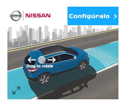 Google AR Ads for Nissan Qashqi