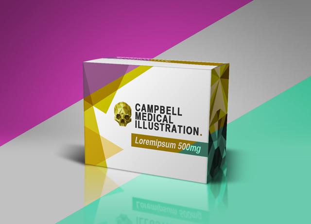 Pharmaceutical_Packaging_Mockup_Campbell_Medical_Illustration_03