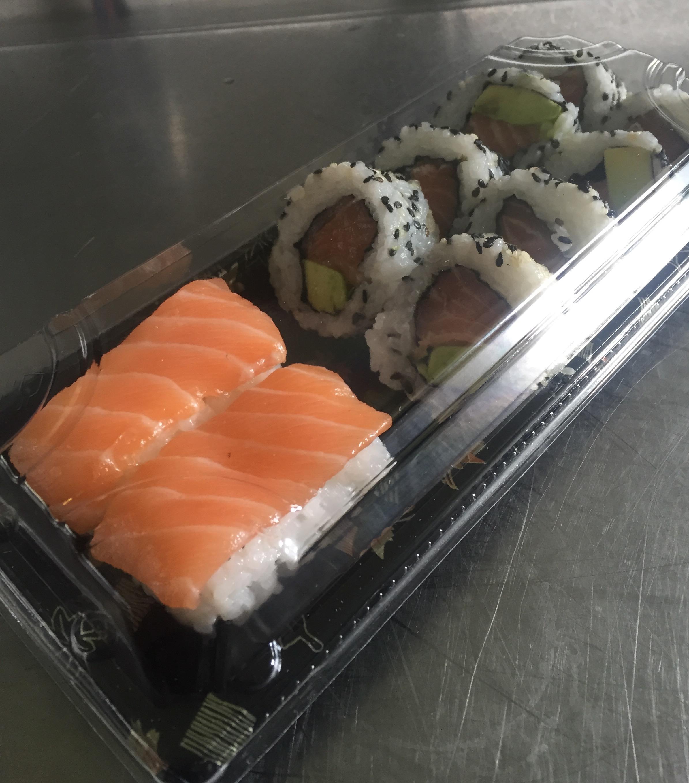 The Salmon Mix - £6.50