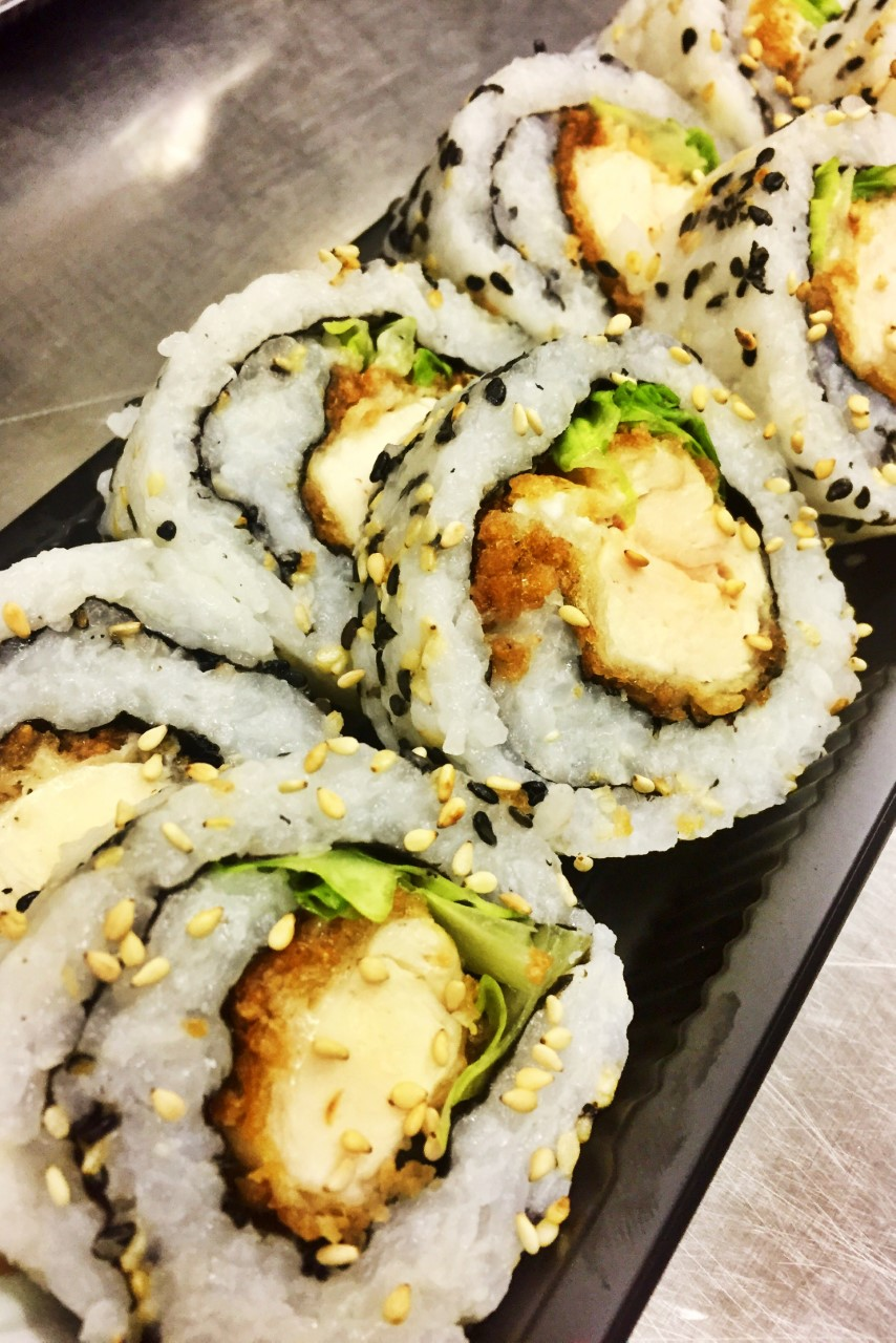 Chicken Katsu Roll - £5.50    *contains gluten