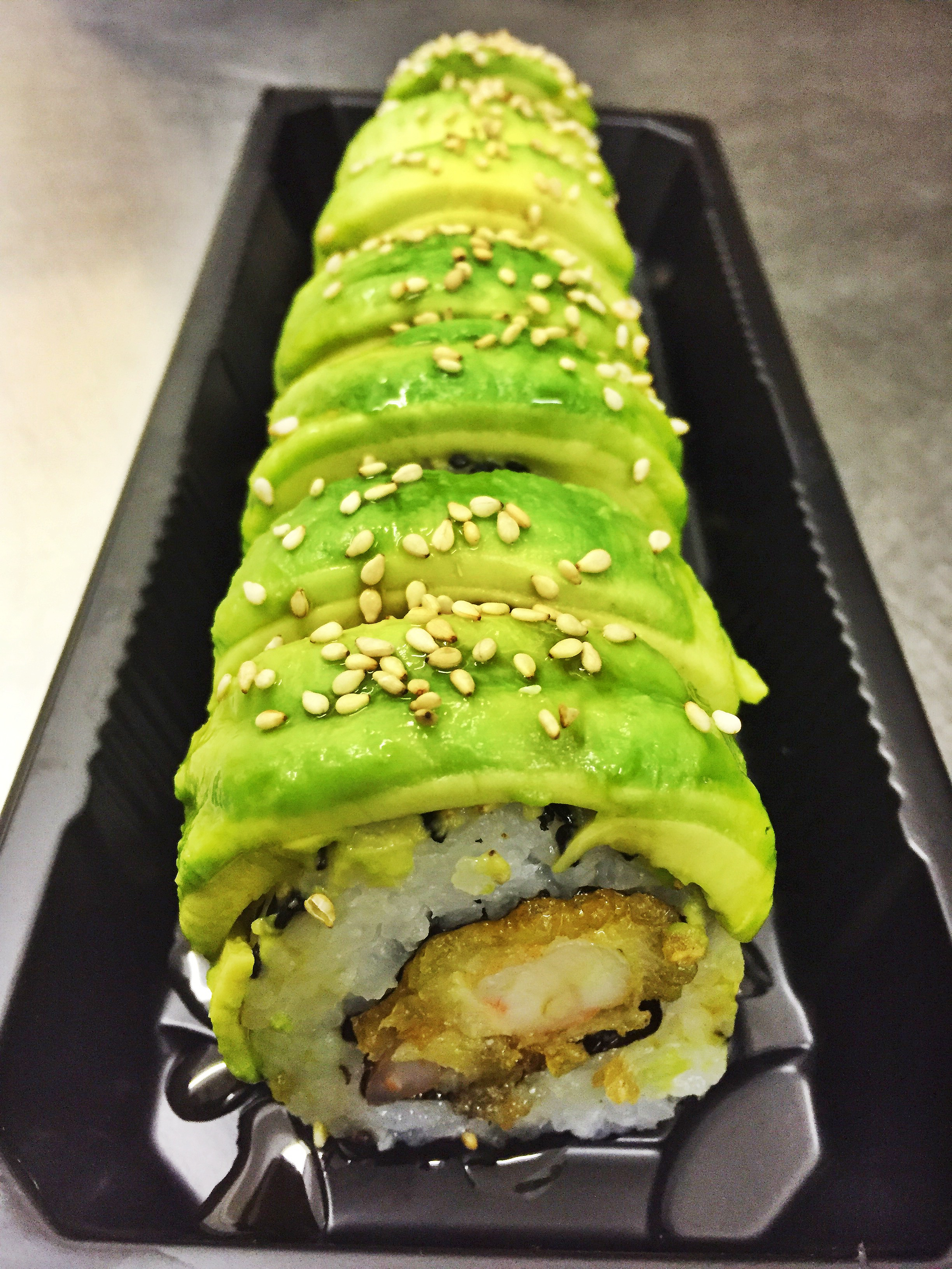 The Caterpillar Roll - £6.50  *contains gluten