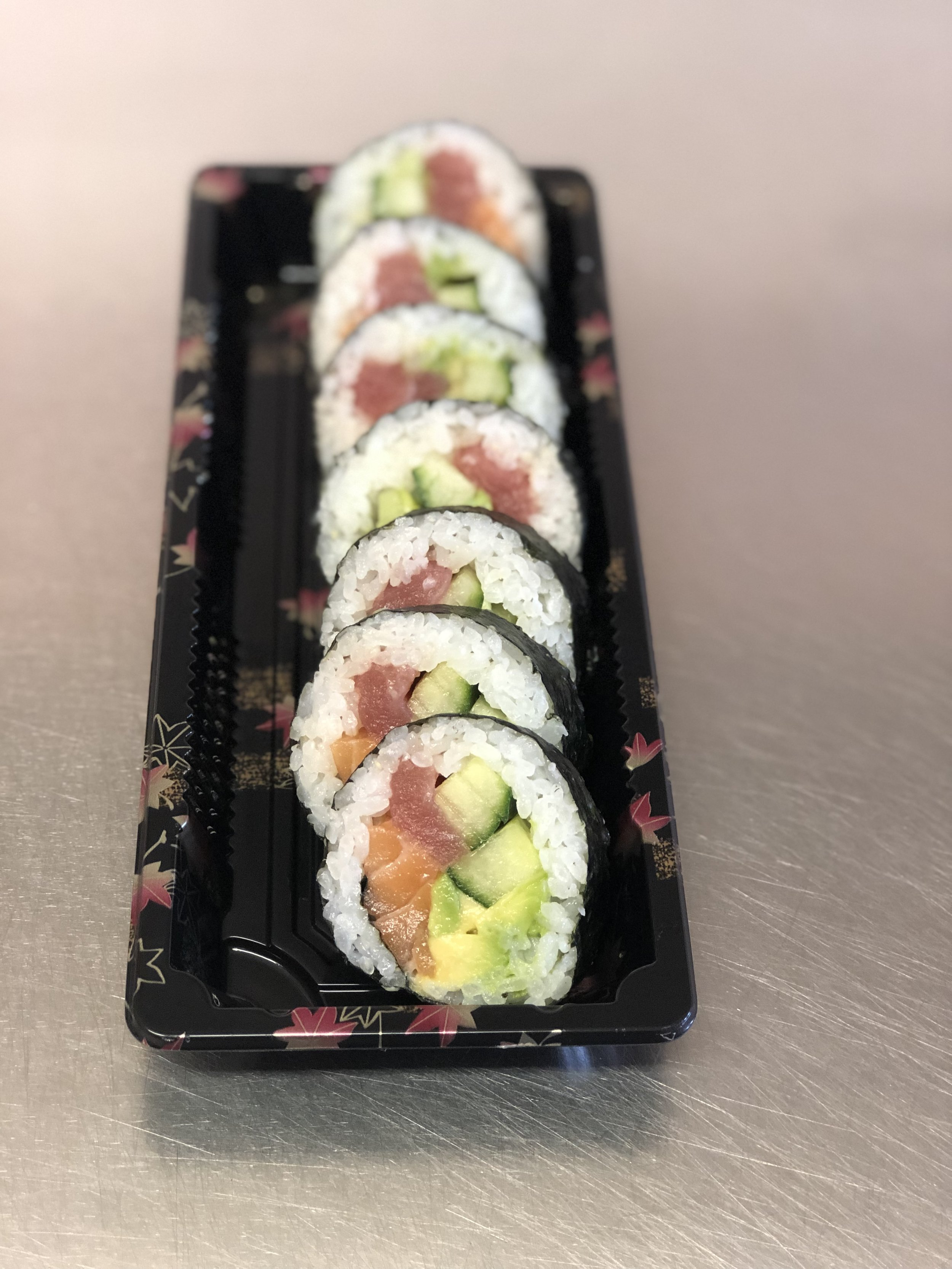 Rainbow Futomaki Roll - £7