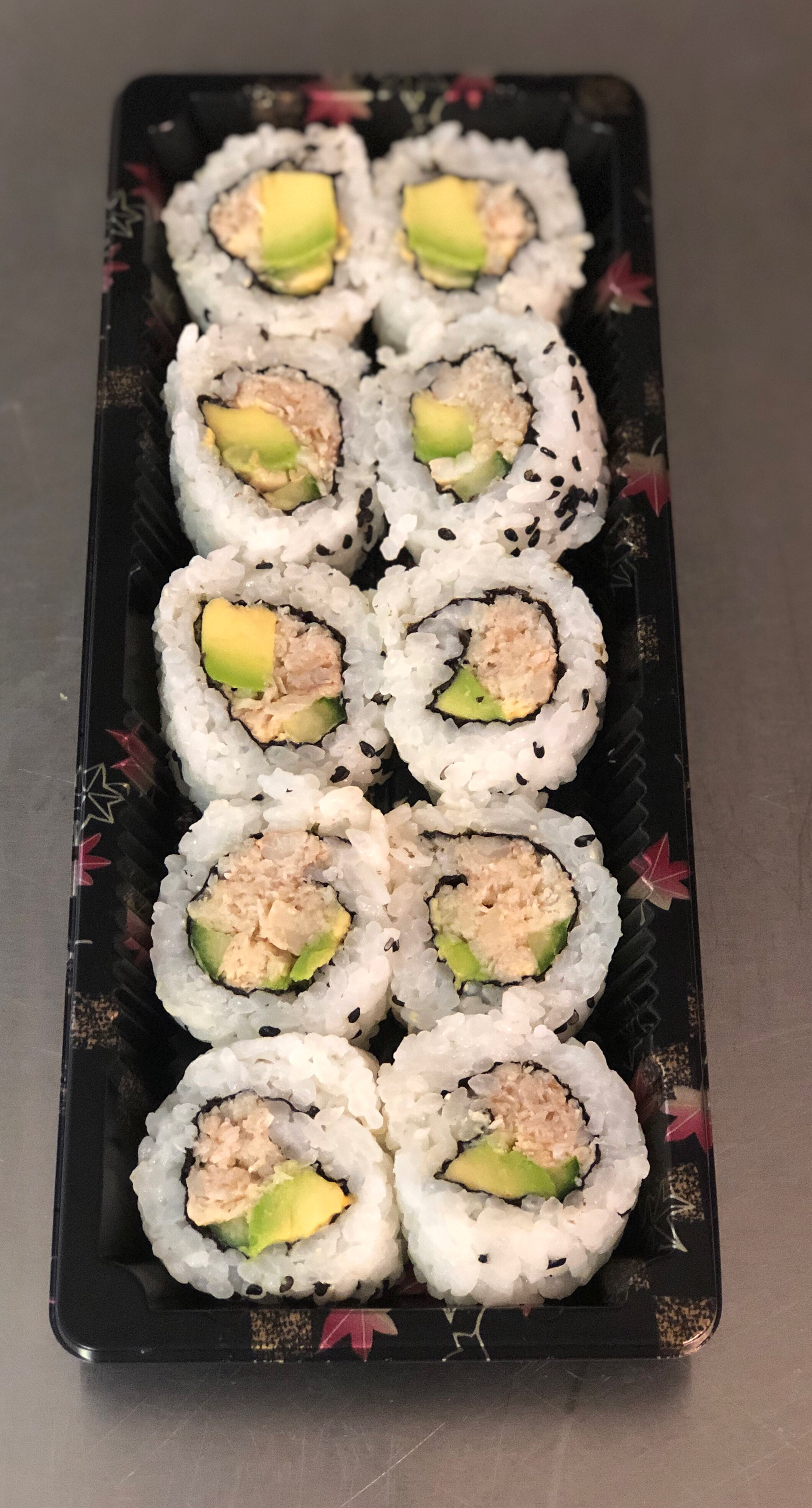 Crab & Avocado Rolls - £6.50