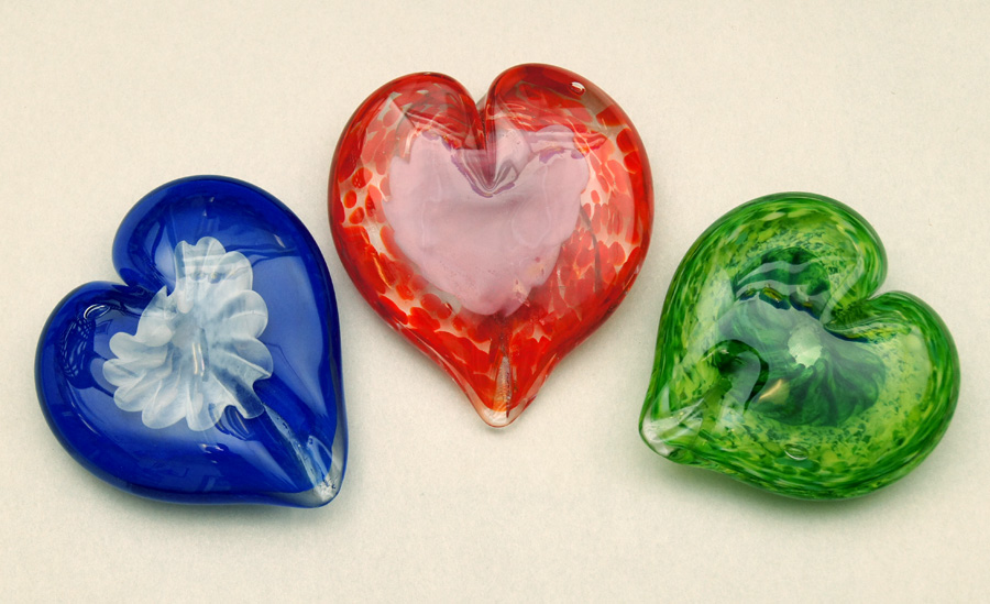 Heart Paperweights